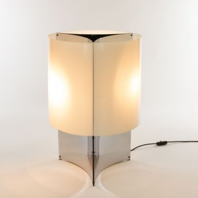 Model 526/G Table or Floor lamp by Massimo Vignelli for Arteluce