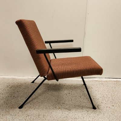 Dutch vintage design lounge chair by André Cordemeyer for Gispen, 1950's
