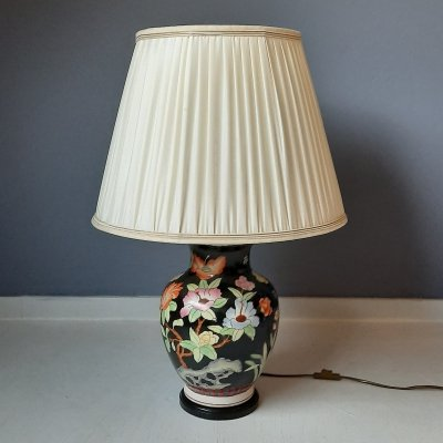 Asian Style Vase Lamp by Kullmann Lampen, 1980s
