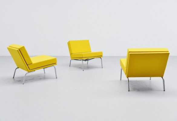 Martin Visser SZ04 lounge chairs sofa by 't Spectrum, 1964
