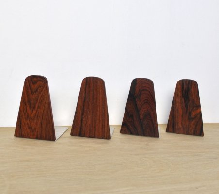 Set of 4 Scandinavian Modern Bookends, 1960s