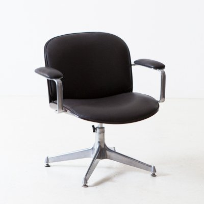 Office swivel armchair by Ico Parisi for MIM
