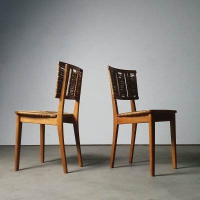 1947 'Utility' chairs by Mart Stam for Goed Wonen