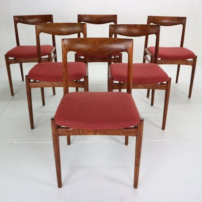 Mid-Century Modern 'Pander the Hague' set of 6 Dinning Room Chairs, 1960s