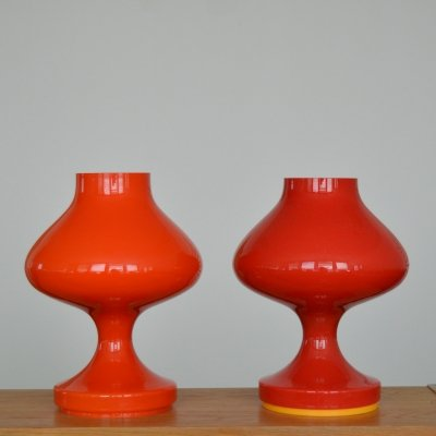 Pair of Table Lamps by Štepán Tabery, 1970s