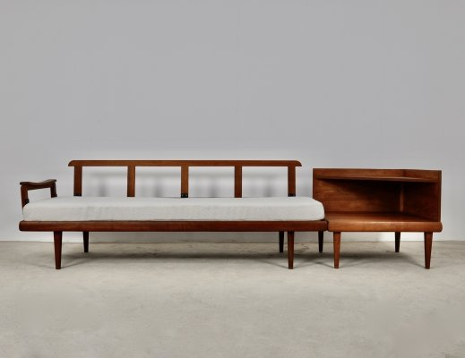 Edvard & Tove Kindt Larsen sofa set with corner table for Gustav Bahus