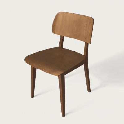 Irene dining chair by Dirk L. Braakman for Pastoe, 1940s