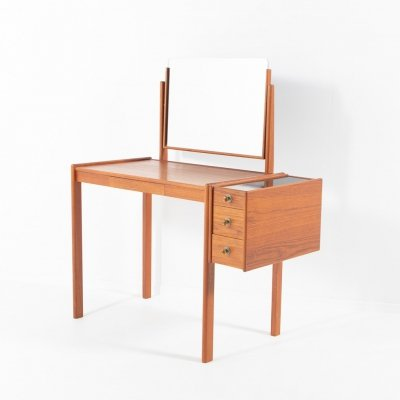 Swedish Modern teak dressing table, 1960's