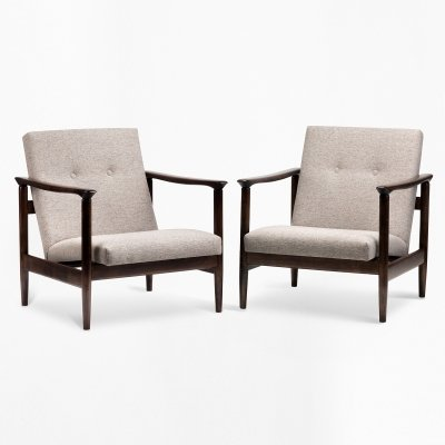 Pair of GFM-142 armchairs by Edmund Homa, 1960s