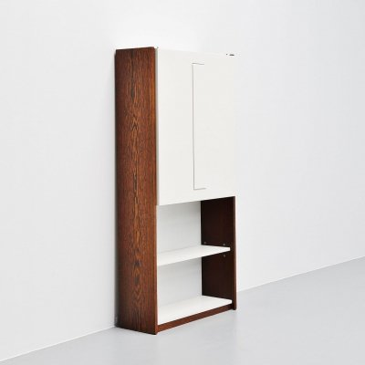 Martin Visser & Jos Manders storage desk unit by 't Spectrum, 1964
