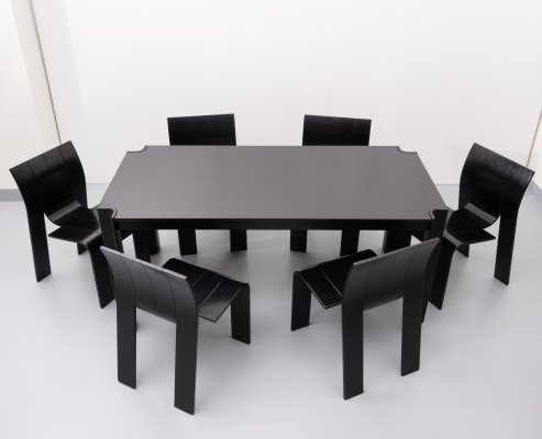 Strip dining set by Gijs Bakker for Castelijn, 1970s