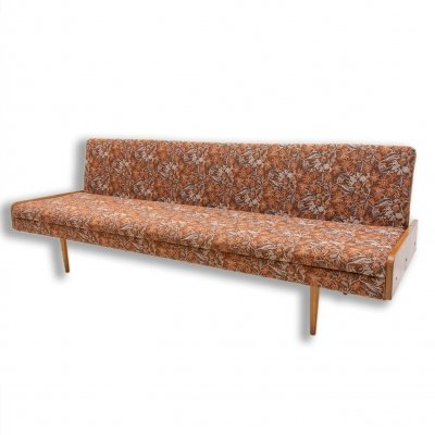 Mid century folding sofa bed, Czechoslovakia 1960