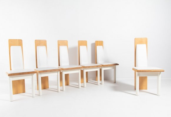 Eero Aarnio set of 6 'Viking' chairs produced by Oy Polarisdesign