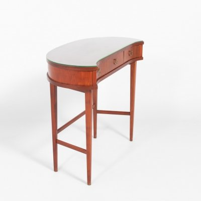 Swedish Modern mahogany dressing table, 1950's