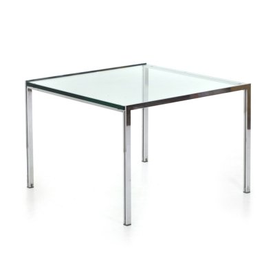 'Luar' coffee table with glass top by Ross Little for ICF, 70s