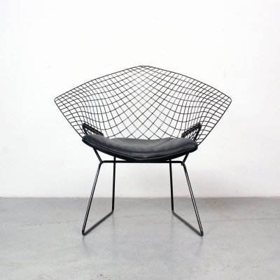 Diamond lounge chair by Harry Bertoia for Knoll, 1950s