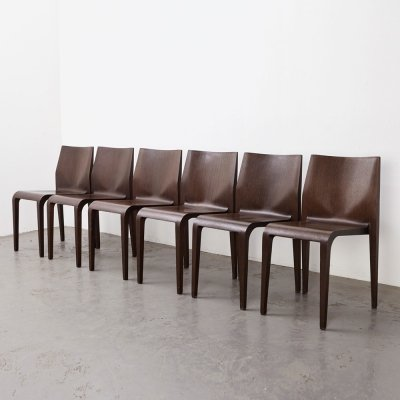 Set of 6 Laleggera Dining Chairs by Riccardo Blumer for Alias, Italy 1993