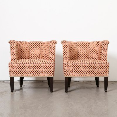 Josef Hoffmann Pair of Alleegasse Easy Chairs for Wittmann Austria, 1990s