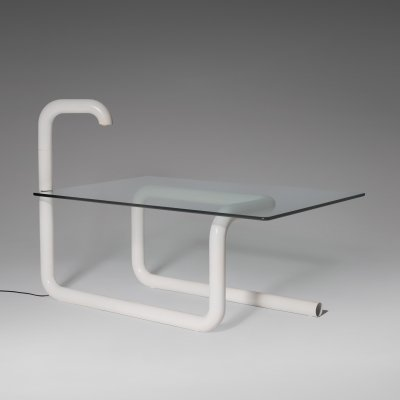 Radical Italian Tubular Desk, 1960s