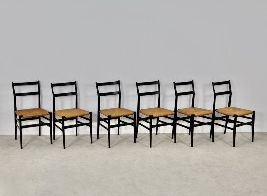 Leggera Chairs by Gio Ponti for Cassina, Milano 1960s