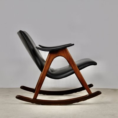 Rocking Chair by Louis Van Teeffelen, 1960s