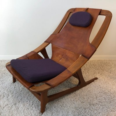 Early edition Arne Tidemand Ruud 'Holmenkollen' chair, 1959
