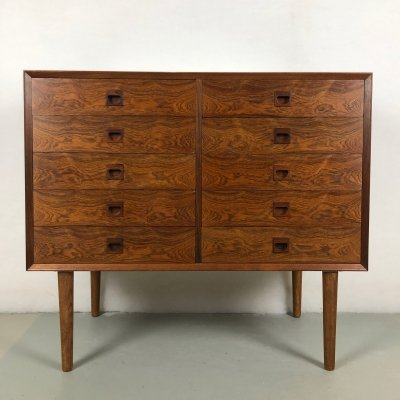 Rosewood Chest of 10 drawers, 1960s