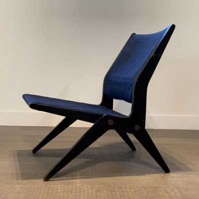 Rare Bengt Åkerblom chair for Akerblom Sweden, 1950s