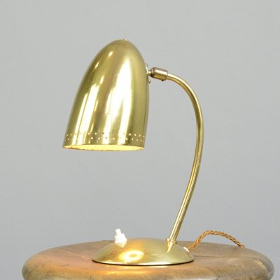 Model 4007 Table Lamp by Christian Dell for Kaiser Idell, Circa 1930s