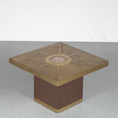 Square Coffee Table by Paco Rabanne for Lova Creation, Belgium 1970