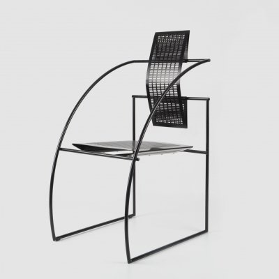 Quinta arm chair by Mario Botta for Alias, 1980s