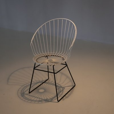 Rare wire chair by Cees Braakman for Pastoe, 1950s