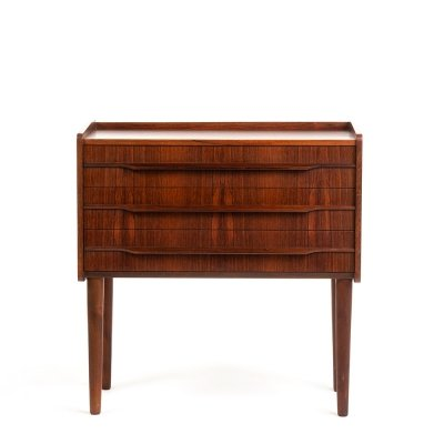 Vintage Danish rosewood chest of drawers, 1960's