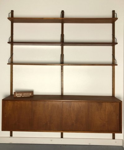 Cadovius Royal System double wall-unit, 1960s