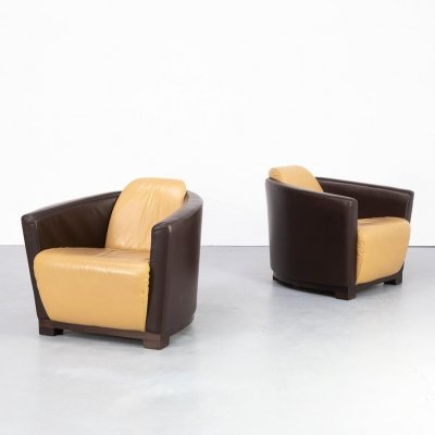 80s post modern club fauteuil in art deco style for Calia