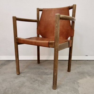 Leather Chair, 1960s