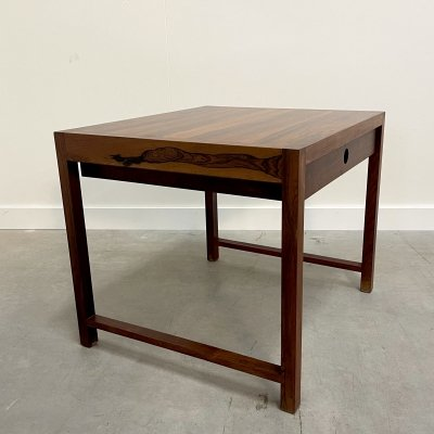 Brode Blindheim rosewood side table for Sykklyven, Norway 1960s