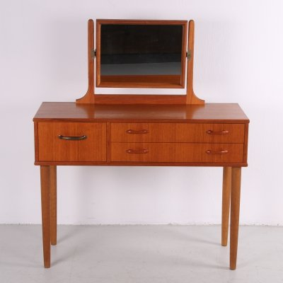 Danish vintage design teak dressing table, 1960s