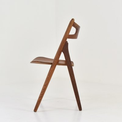 Sawbuck' chair by Hans J. Wegner for Carl Hansen & Søn, Denmark 1952