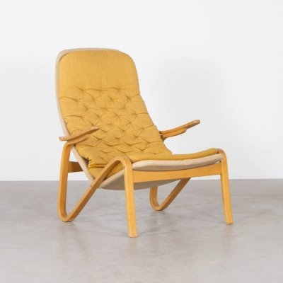 4 x lounge chair by Sam Larsson for Dux, 1970s