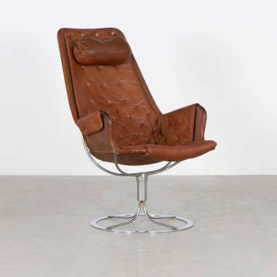 Jetson lounge chair by Bruno Mathsson for Dux, 1960s