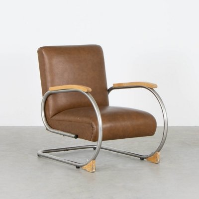 Tubax lounge chair, 1950s