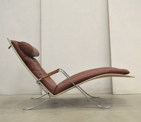 Grasshopper lounge chair by Jørgen Kastholm & Preben Fabricius for Alfred Kill International, 1970s
