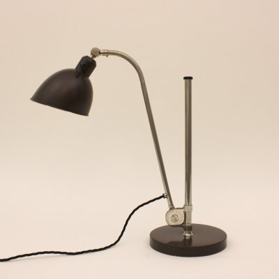 Christian Dell 'Typ K' desk lamp made by Belmag Zürich, Switzerland 1930s