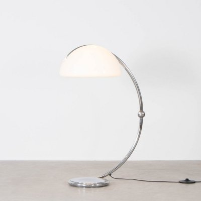 Serpente floor lamp by Elio Martinelli for Martinelli Luce, 1970s
