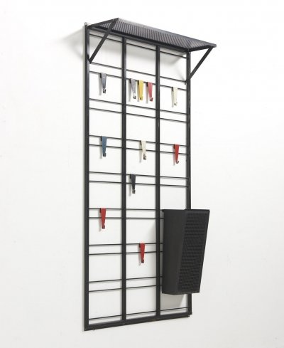 'Tone Ladder' Coat Rack by Tjerk Reijenga for Pilastro, Netherlands 1950's