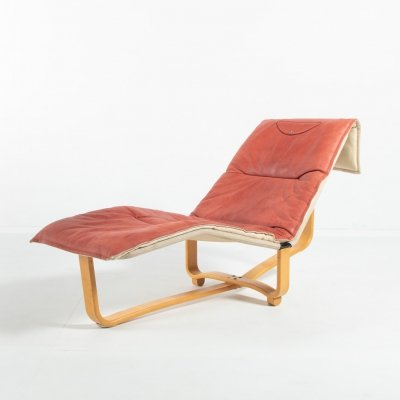 Ingmar Relling & Knut Relling Chaise Lounge for Westnofa, Denmark 1970's