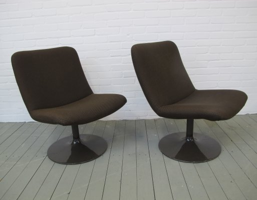 Pair of Lounge chair by Geoffrey Harcourt for Artifort, 1960s