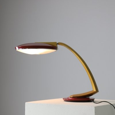 Boomerang 2000 desk lamp by Luis Pérez de la Oliva for Fase, 1970s