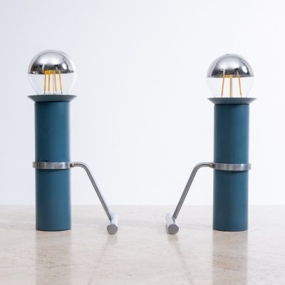 Pair of desk lamps by Tapio Wirkkala for Idman, 1960s